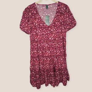Wild Fable Target Pink Floral Dress NWT